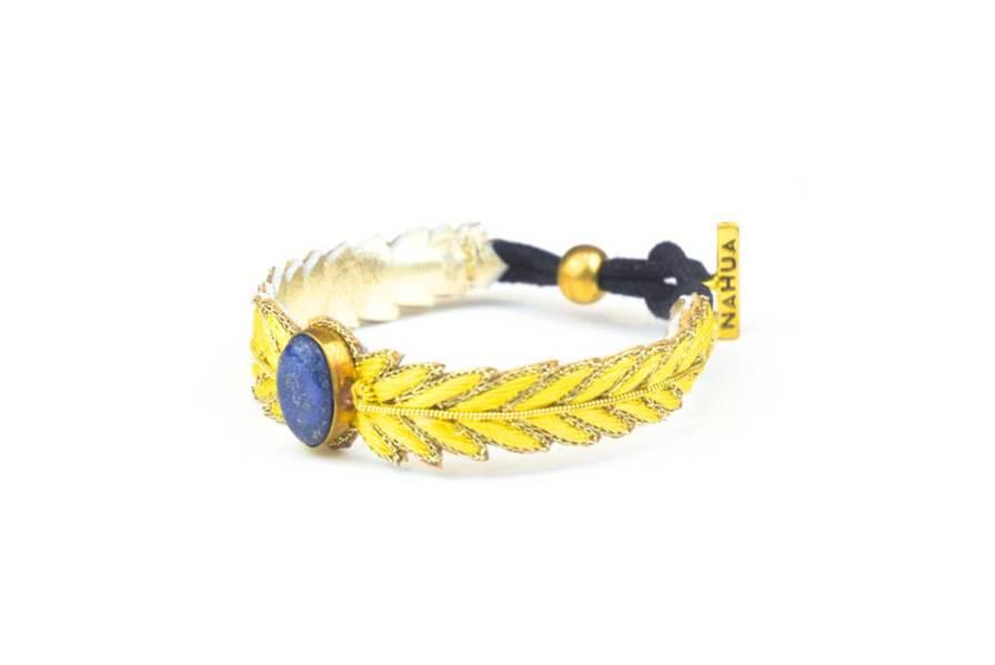 Bracelet chic Loriane   Yellow   Photo 2