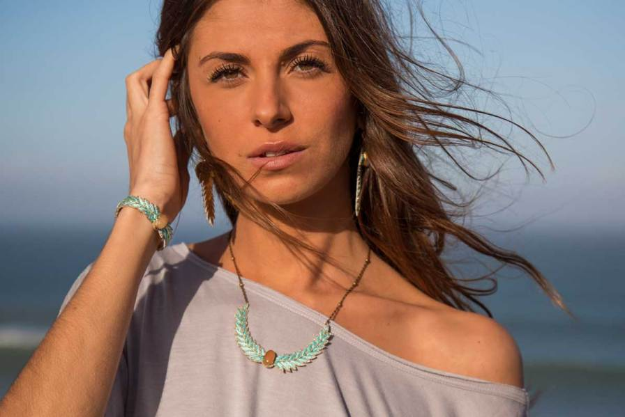 Collier chic Lorella | Aqua | Photo 1