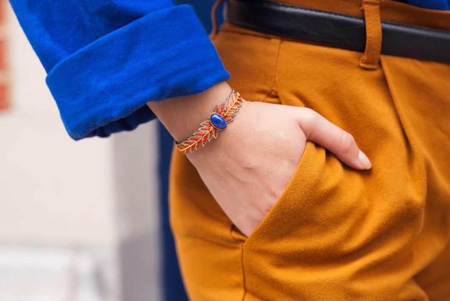 Bracelet chic Loriane | Copper | Photo 1