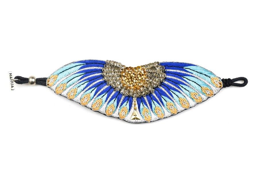 Bracelet ethnique Nikita   Blue greek   Photo 3