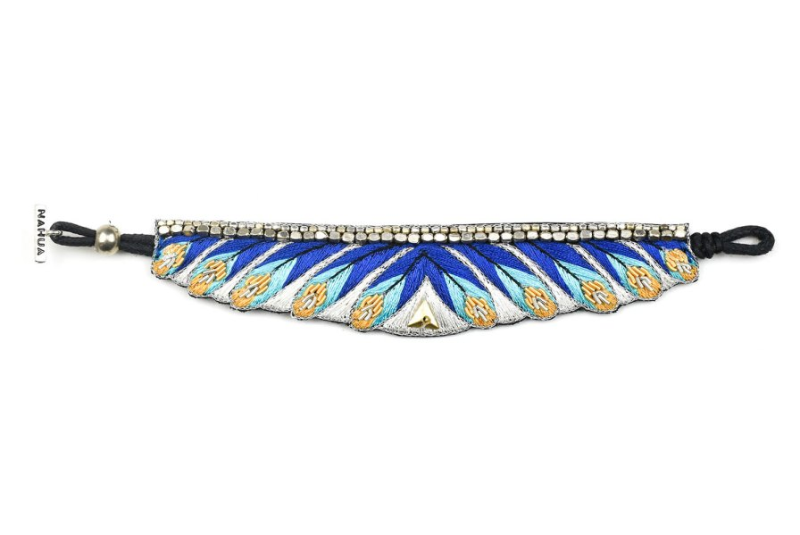 Bracelet ethnique Niall | Greek blue | Photo 3