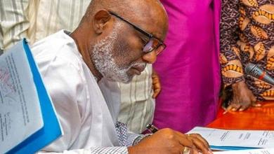 Photo of Akeredolu okays incentives for health workers