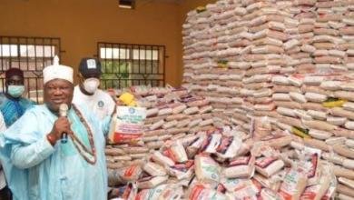 Photo of US-based foundation donates food items to Kogi communities