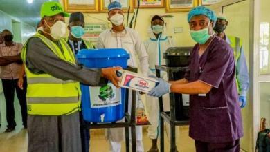 Photo of Kano state donates equipment to Dala Hospital.