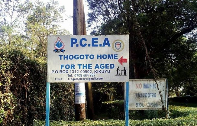A visit to Thogoto home for the aged