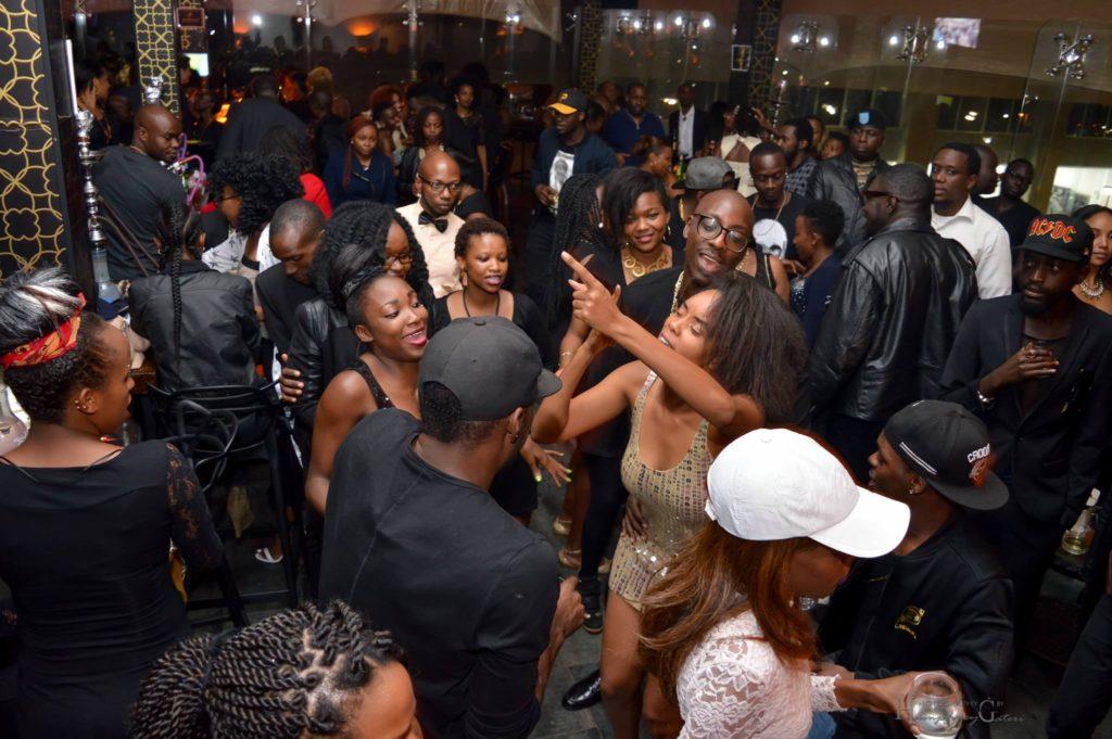 Ladies Flock Sauti Sols Savara On His Birthday Party