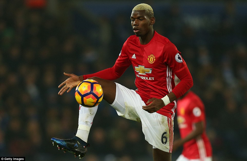 Image result for paul pogba 2017