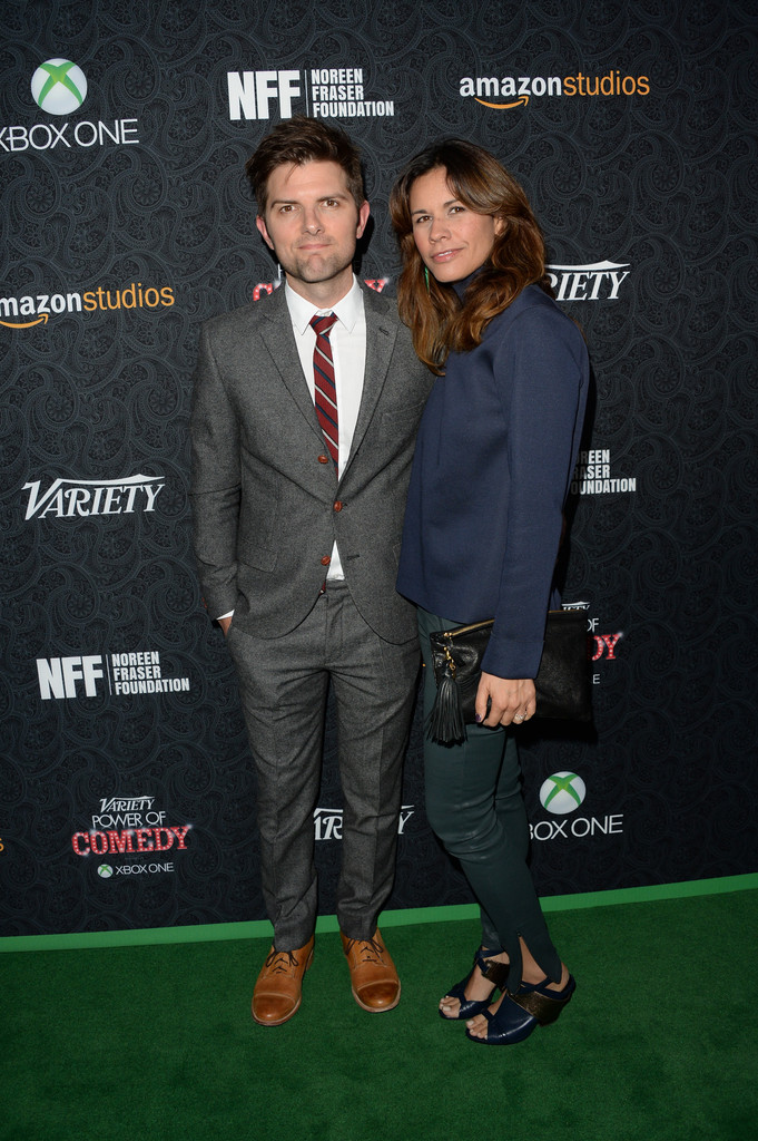 In september 2015, he married actress and psychotherapist victoria shalet. Naomi Sablan - Inside The Life Of Adam Scott's Wife - Naibuzz