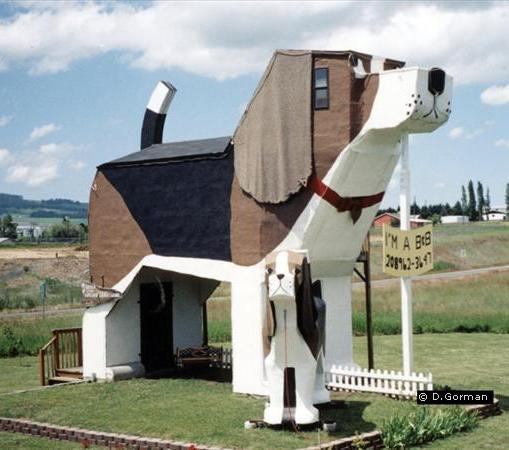 Отель в форме собаки в американском штате Айдахо | Статьи ...