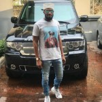 D'banj Poses With His New Range Rover (Photos)