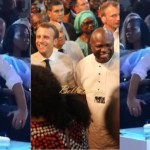 Watch French President Dancing To Wizkid And Davido Song