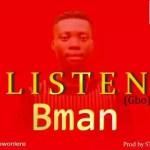 MUSIC: Bman – Gbo (Listen)