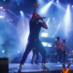 Wizkid In Tears As He Falls & Prostrates For a Fan On Stage At His Madeinlagos Concert