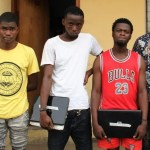 Suspected Yahoo Boys Apprehended By EFCC In Lagos (Photo)