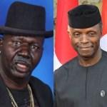 Vice President Yemi Osinbajo Donates N1m To Ailing Baba Suwe