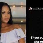 Kemi Olounloyo: Hermadine Samlan Is A Thief, Davido's Baby Mama Amanda Stole