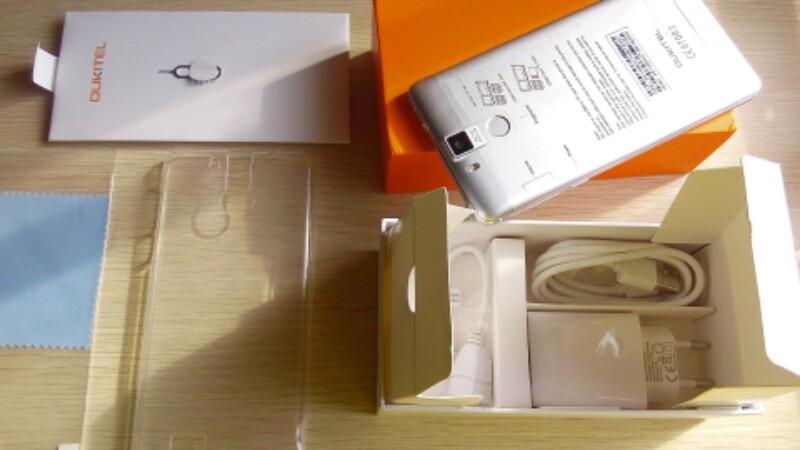 Oukitel k6000 pro Unboxing