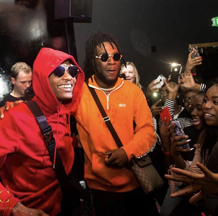 """""""You Have Nothing To Prove Again"""" – Burna Boy Hails Wizkid (Video)"""
