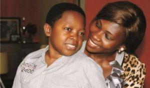 Chinedu Ikedieze and wife.