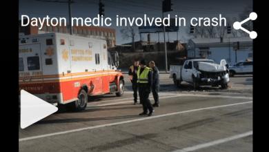 Photo of Medic Involved In Crash In Dayton