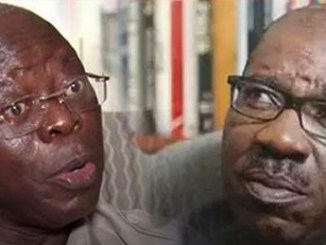 Osunbor talks about the depth of crisis between Obaseki and Oshiomhole