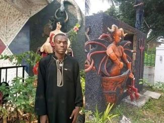 Abia State : Church Of Satan demolished, founder arrested