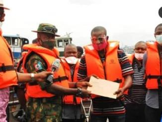 EFCC receives stolen oil vessel, nine suspects from the Military