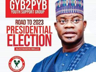 2023 presidency: Yahaya Bello is under pressure to run, says Kogi commissioner