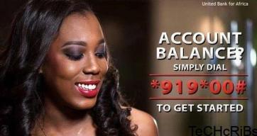 check UBA account balance