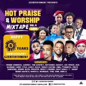 Dj LT - Hot Praise & Worship Mixtape