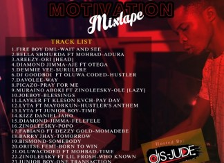 Dj S-Jude - Motivation Mixtape.