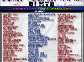 DJ MYD - World Tour All Time Mix (AfroBeat, Rap, R&B, Reggae, Dancehall, Hip Hop)