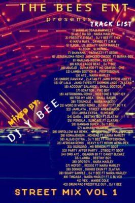 Dj Y Bee – Street Mix Vol 1 2020