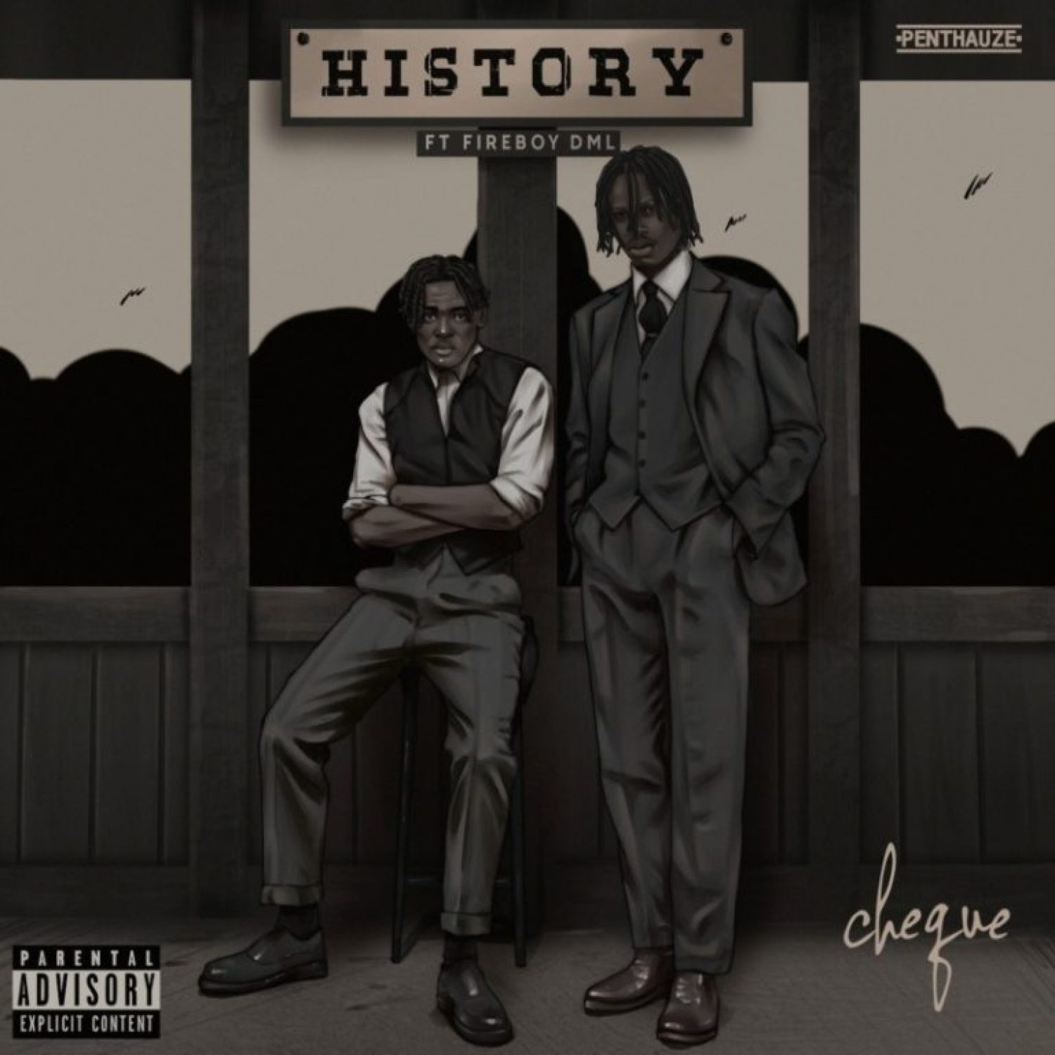 DOWNLOAD MP3: Cheque – History ft. Fireboy DML AUDIO 320kbps