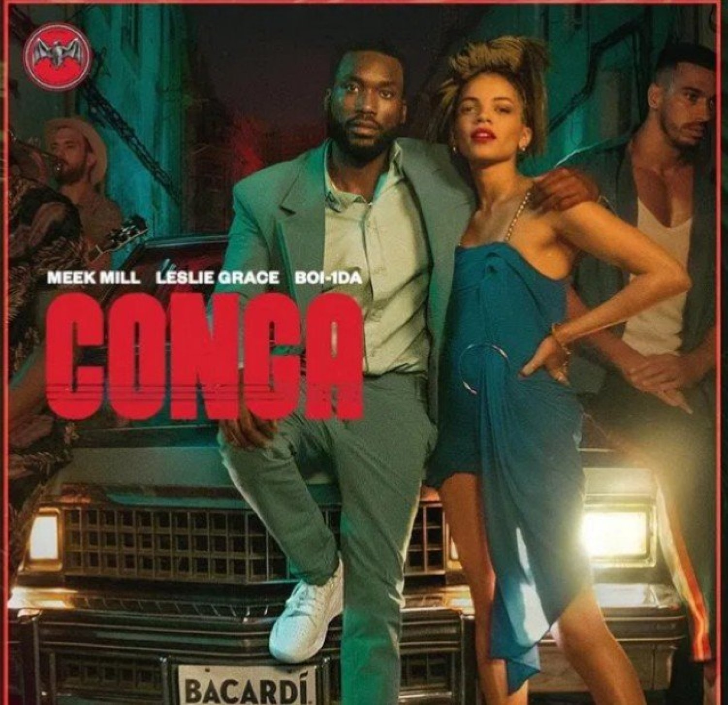 DOWNLOAD MP3: Meek Mill – CONGA Ft. Leslie Grace (Free Mp3) AUDIO 320kbps