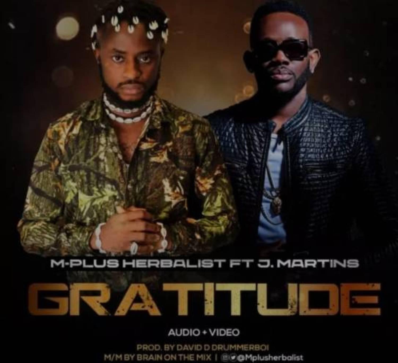 DOWNLOAD VIDEO: M-Plus – Gratitude ft. J.Martins MP4