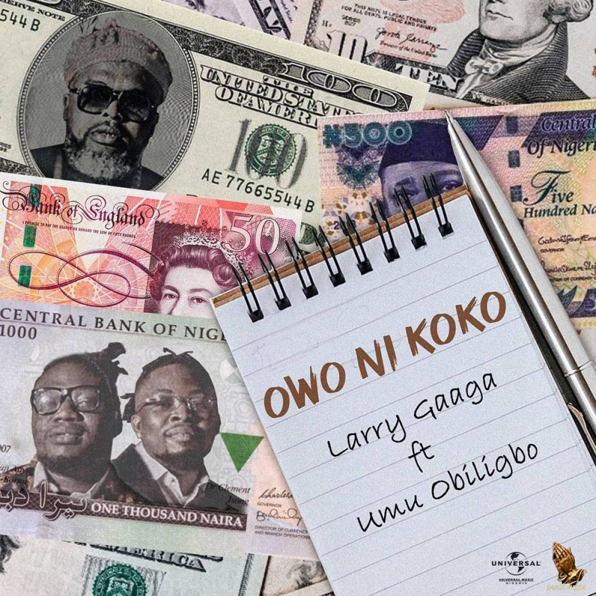 Download Mp3 Larry Gaaga Ft. Umu Obiligbo – Owo Ni Koko