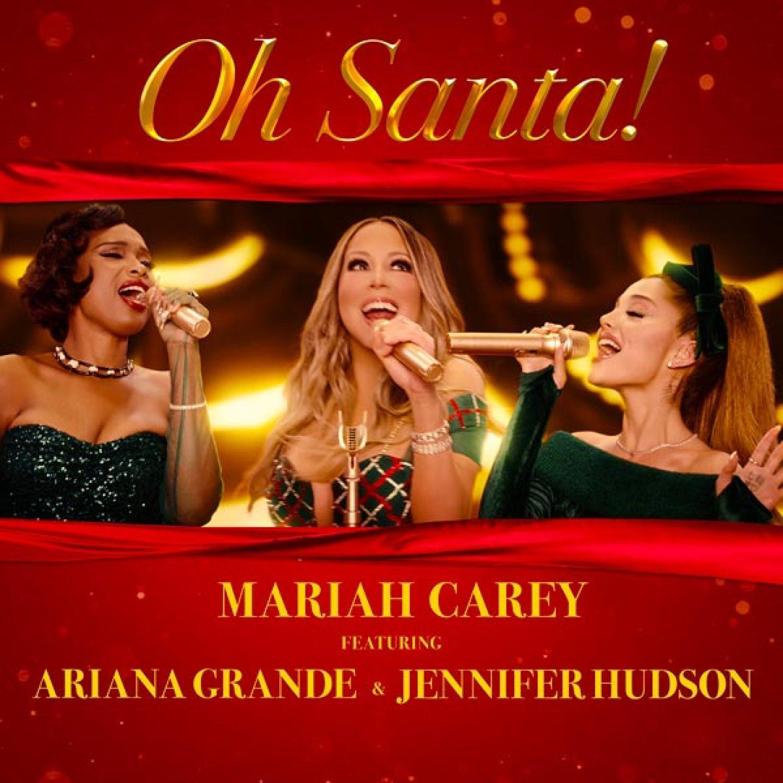 DOWNLOAD MP3: Mariah Carey Ft. Ariana Grande & Jennifer Hudson – Oh Santa!