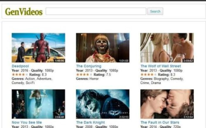 Genvideos Site To Stream Movie Online