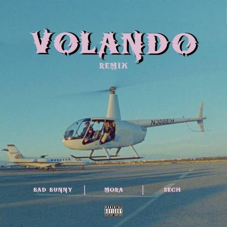 DOWNLOAD Mora ft. Bad Bunny & Sech – Volando (Remix) MP3 AUDIO 320kbps