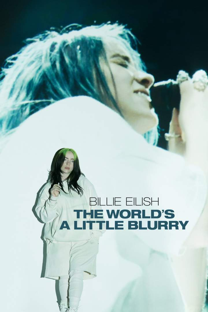 DOWNLOAD MP4: Billie Eilish; The World's a Little Blurry (2021) (2021) Movie (Film)