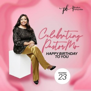 Pastor Modele,wife of the senior pastor of COZA, Pastor Biodun Fatoyinbo has been celebrated on social media.The controversial man of God recently acc