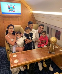 Cristiano Ronaldo was yesterday crowned men's player of the year at the Dubai Globe Soccer Awards, winning the honour for a sixth time. The Juventus forward, 34, scooped Best Men's Player of the Year at a glitzy ceremony at the Madinat Jumeirah, with England's Lucy Bronze winning the inau