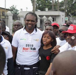 Nigerian football legend, Kanu Nwankwo has been tossed into serious grief after losing someone very special. Kanu Nwankwo, a former Super Eagles player, on Wednesday announced the death of one of the first beneficiaries of his heart foundation turned daughter, Enitan.