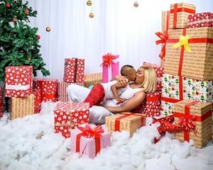 Tonto Dikeh and her son, Andre Omodayo Churchill shine in Christmas photos. The highly controversial actress shared adorable photos via her Instagram page to mark the Christmas season and wrote: