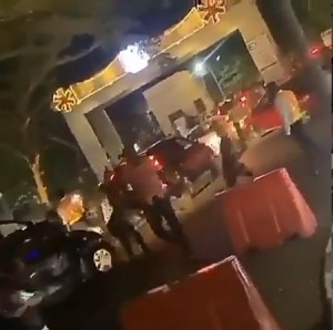 "There was chaos at Eko Hotel as fans tried to gain entrance into Naira Marley's concert on Monday night, December 30, 2019. In a video shared online, fans can be seen running in different directions outside Eko Hotel where the Marlian Fest was taking place. Twitter users took to the platform to comment about the chaos. Some said it was not unexpected as the Marlians slogan is ""no manners"". Below is a video of the chaos and Twitter reactions to it."