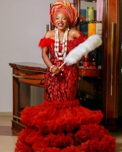 Sandra Ikeji And Arinze's Traditional Wedding (Photos)