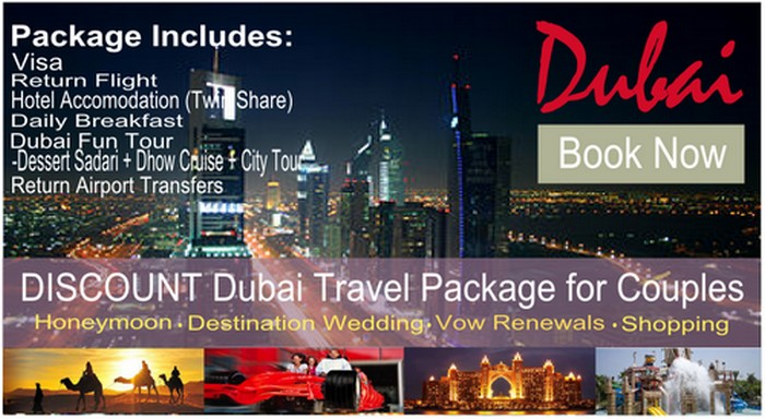 flyer dubai honeymoon wedding from nigeria