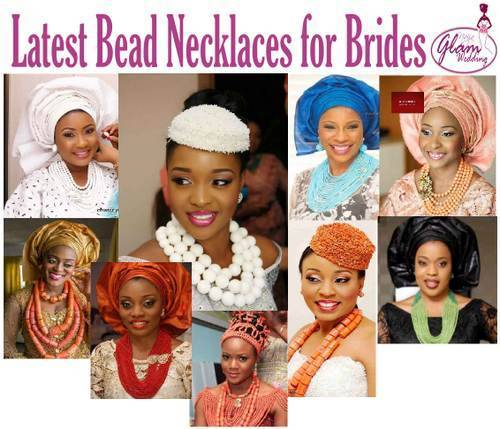 women in nigerian bead necklaces pictures