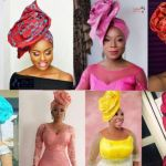 How to Tie Rose Gele (aka Ascot Gele):  Tutorial and Steps for Iconic Avant Garde Gele aka Abeke Gele aka Take a Bow Gele (Video)